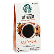 Starbucks VIA Ready Brew Colombia Medium Roast Instant Coffee Packets