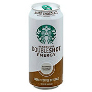 Starbucks White Chocolate Double Shot Energy Coffee Drink