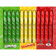 Starburst Assorted Candy Canes 12 Ct