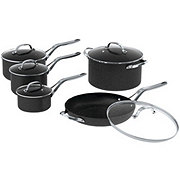Starfrit The Rock 10 Piece Non-Stick Cookware Set