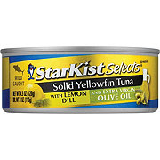 StarKist Gourmet Choice Yellowfin Marinated Tuna Fillet with Lemon Dill in Olive Oil
