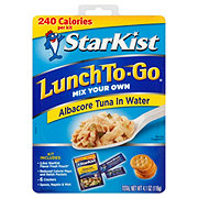 StarKist Lunch to Go Albacore Tuna In Water Kit