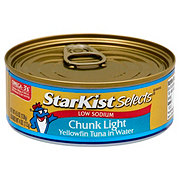 StarKist Selects Low Sodium Chunk Light Tuna in Water
