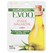 StarKist Selects Wild Caught Pink Salmon in Extra Virgin Olive Oil Pouch