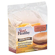 Start Healthy Grand Prairie English Muffin Turkey Bacon