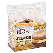 Start Healthy Grand Prairie English Muffin Turkey Sausage