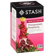 Stash Premium Pomegranate Raspberry with Matcha Green Tea Bags
