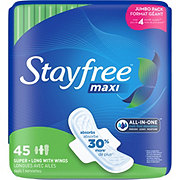 Stayfree Maxi Pads Super Long With Wings