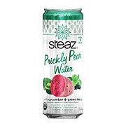 Steaz Cactus Water With Cucumber & Green Tea