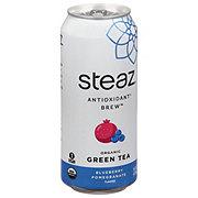 Steaz Iced Teaz 100% Natural Blueberry Pomegranate Acai Green Tea