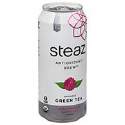 Steaz Iced Teaz Zero Calorie Raspberry Green Tea