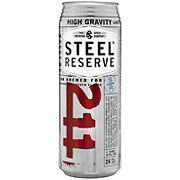 Steel Reserve 211 Lager Can