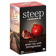 Steep by Bigelow Organic Green Tea With Pomegranate
