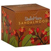 Stella Mare Sandalwood Pillar Candle