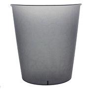 Sterilite Oval Wastebasket, Grey Flannel Tint