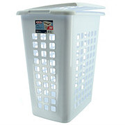 Sterilite Rectangular Laundry Hamper White