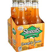 Stewart's Fountain Classics Real Sugar Orange N Cream Soda 12 oz Bottles