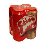 Stiegl Goldbrau Beer 16.9 oz Cans