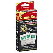 Sting-Kill Maximum Wipes