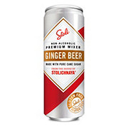 Stolichnaya Stoli Ginger Beer 12 oz Cans