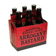 Stone Bourbon Barrel-Aged Arrogant Bastard Beer 12 oz  Bottles