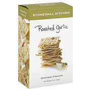 Stonewall Kitchen Roasted Garlic Down East Crackers