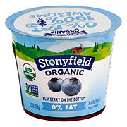 Stonyfield Farm Non-Fat Yogurt Blueberry