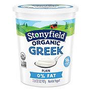 Stonyfield Fat Plain Greek Yogurt