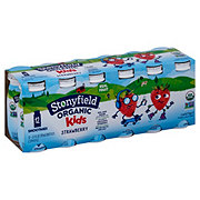 Stonyfield Kids Strawberry Smoothie Low Fat