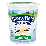 Stonyfield Low Fat French Vanilla Yogurt