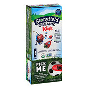 Stonyfield Organic Kids Low Fat Cherry/Berry Yogurt Tubes