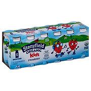 Stonyfield Organic Kids Low-Fat Strawberry Smoothie 3.1 oz Bottles
