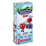 Stonyfield Organic Kids Strawberry Beet Berry Whole Milk Yogurt Tubes