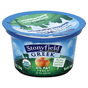 Stonyfield Peach Mango Greek Yogurt