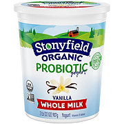 Stonyfield Smooth & Creamy Whole Milk French Vanilla Yogurt