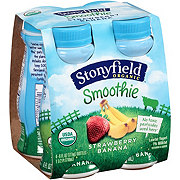 Stonyfield Strawberry Banana Smoothie