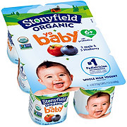 Stonyfield YoBaby Blueberry and Apple