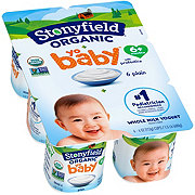 Stonyfield YoBaby Plain Yogurt