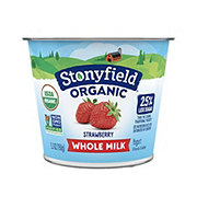 Stonyfield Yogurt, Organic, Fat Free, Fruit on the Bottom, Strawberry
