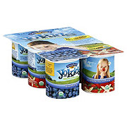 Stonyfield YoKids Blueberry/Strawberry Vanilla Yogurt