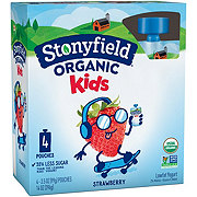 Stonyfield YoKids Squeeze Strawberry Yogurt