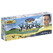 Stonyfield YoKids Squeezers Blueberry & Lemonade Yogurt