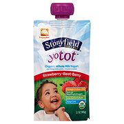 Stonyfield Yotoddler Single Serve Strawberry Beet Berry