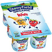 Stonyfield YoToddler Strawberry Banana Yogurt, 6 PK