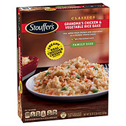 Stouffer's Grandma's Chicken and Vegetable Rice Bake Family Size