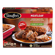 Stouffer's Meatloaf in Gravy, Family Size