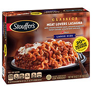 Stouffer's Satisfying Servings Meat Lovers Lasagna