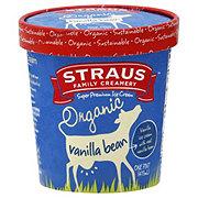 Straus Organic Ice Cream Vanilla Bean