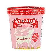 Straus Organic Strawberry Ice Cream