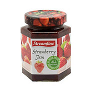 StreamLine Reduced Sugar All Natural Strawberry Jam